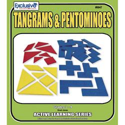 tangrams and pentominoes book