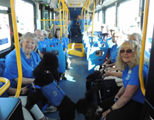 2020 Guide Dog Bus Training