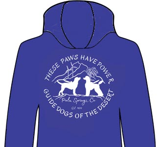Guide Dogs of the Desert Hoodies