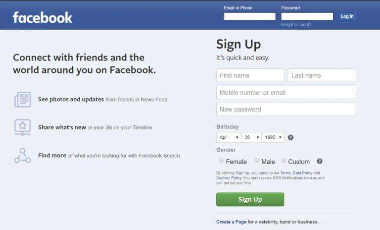 deactivate your Facebook