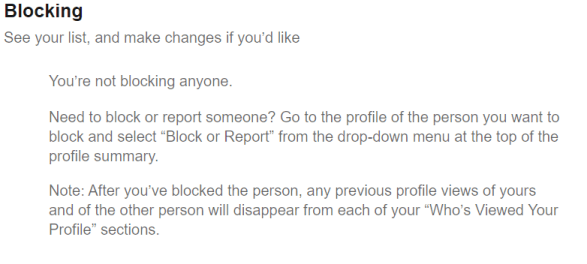 How to Unblock someone LinkedIn