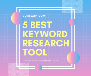 5 Best keyword research tool