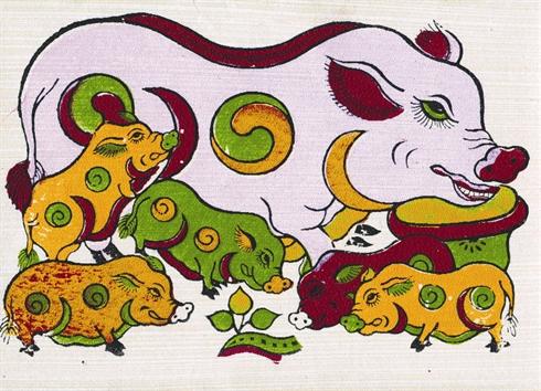 Tableau de Dong Ho