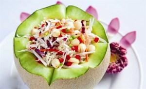 Plat vegetarien au Vietnam
