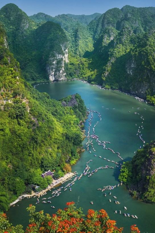 Paysage naturel Trang An