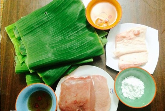 ingredient pour le gio lua