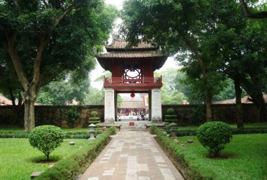 temple litterature