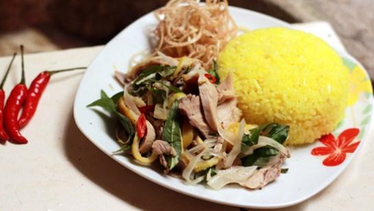 hoi an riz au poulet