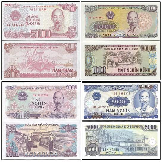 monnaie au vietnam 1