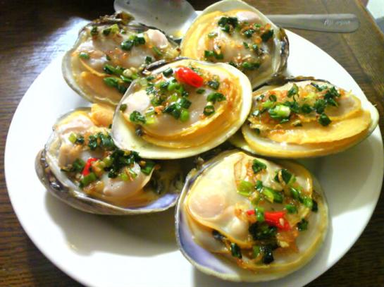 fruit de mer à la baie d'halong 2