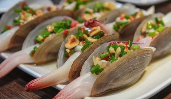 fruit de mer à la baie d'halong 4