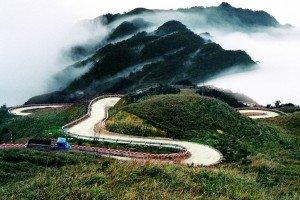 Les montagnes au Vietnam