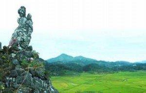 Le rocher de la Dame To Thi