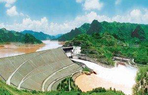 La centrale hydraulique de Hoa Binh