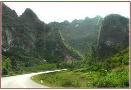 Les montagnes a Mai Chau