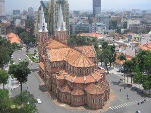 La cathedrale de Saigon
