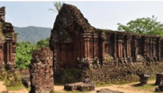 une trace de la civilisation du Champa