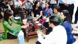 Une tasse de thé au Vietnam s'il-vous-plaît