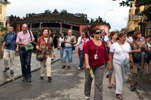 Balades printanières trait culturel au Vietnam