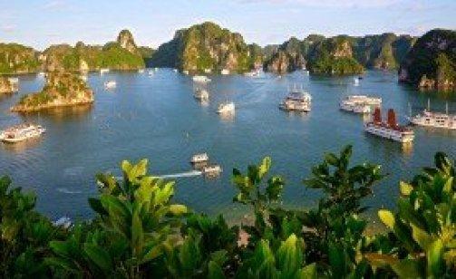 Croisiere dans la baie d'Halong