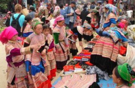 Marché Coc Ly Bac Ha