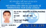 Carte de licence de guide international du Vietnam