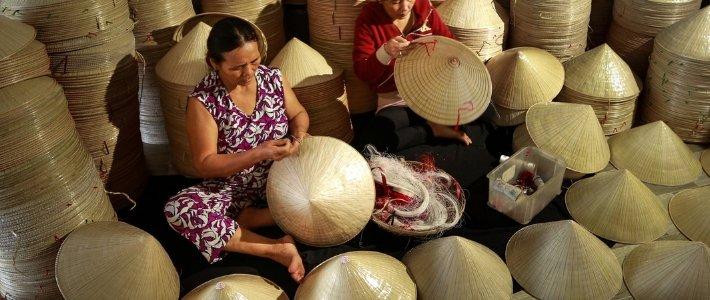 non la - chapeau conique vietnamien - voyage culturel vietnam