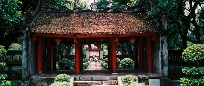 Temple de littérature à Hanoi
