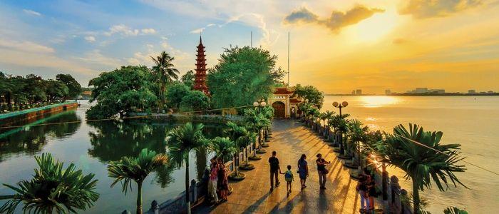 La pagode Tran Quoc - Hanoi