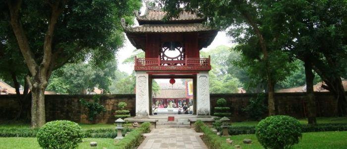 Le temple de la litterature - Hanoi