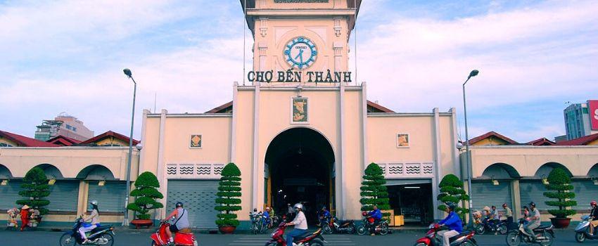 Marché Ben Thanh Saigon