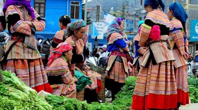 Le marché Dào San