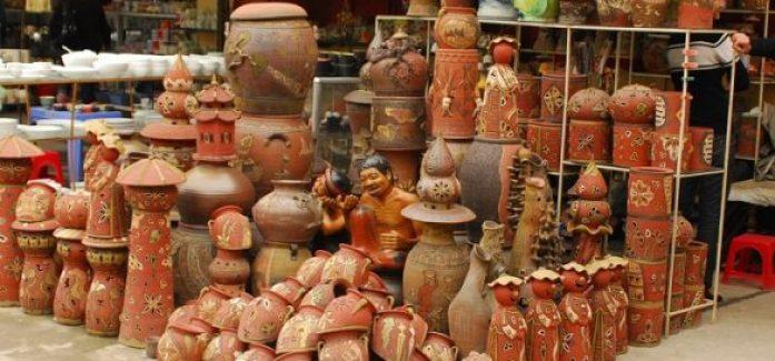 Le village de potiers de Huong Canh