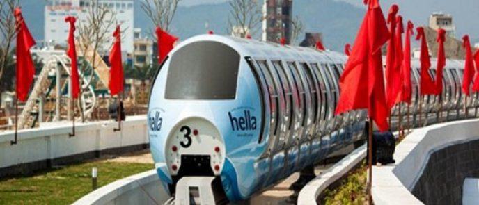 Système de monorail aérien en Ville de Da Nang