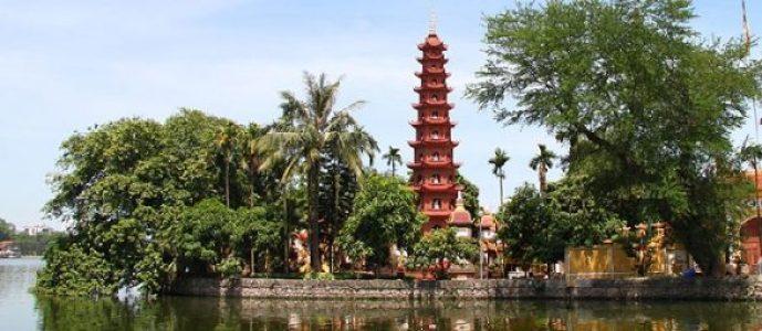 La pagode Trân Quôc à Hanoi