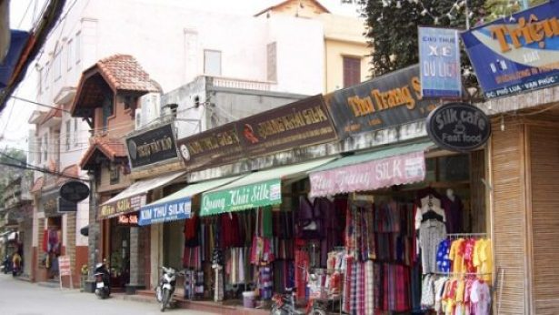 Village de soie de Van Phuc
