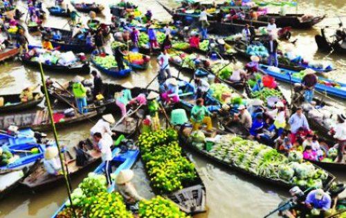 Le marche flottant Cai Rang