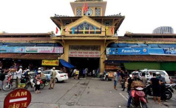 Visite quartier de Cho Lon à Saigon