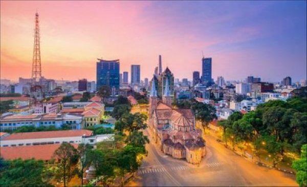 Visite de Ho Chi Minh ville