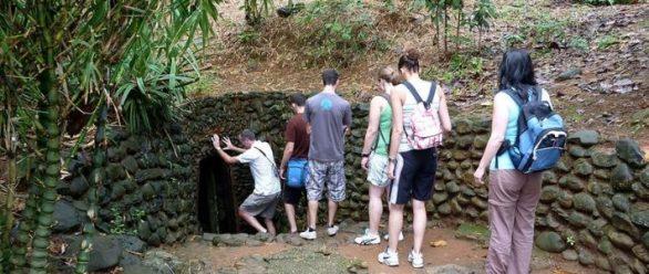 Tunnel Cu Chi à Saigon