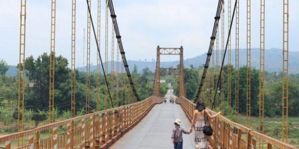 Pont suspendu de Kon Klor