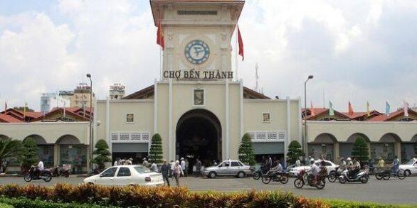 sejour au Vietnam marché de Ben Thanh
