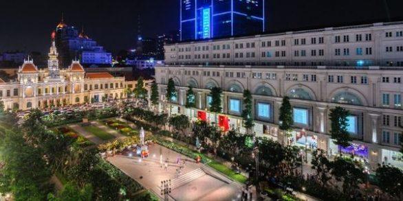 rue piétonne Nguyen Hue