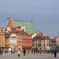 I invite you to visit the Old Town in Warsaw.