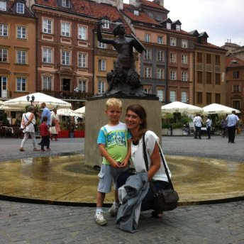 Nie tylko dzieci lubią słuchać warszawskich opowieści i legend. Małgorzata zna je wszystkie.