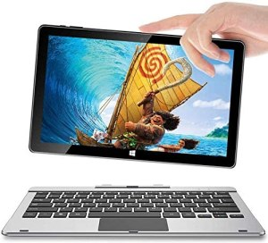 Tablet with Keyboard 11.6 Inch Windows 10 Tablet, 2 in 1 Touch Screen Laptop, 6GB+64GB,Jumper EZpad 6 Pro Quad Core Processor