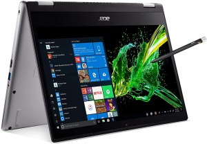 Acer Spin 3 Convertible Laptop, 14 inches Full HD IPS Touch, 8th Gen Intel Core i7-8565U, 16GB DDR4, 512GB PCIe NVMe SSD, Backlit KB, Fingerprint Reader