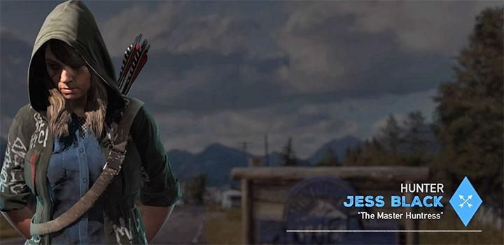 Jess Black is the sixth specialist available in the game - Specialists in Far Cry 5 (Companions) - Guidebook - Far Cry 5 Game Guide