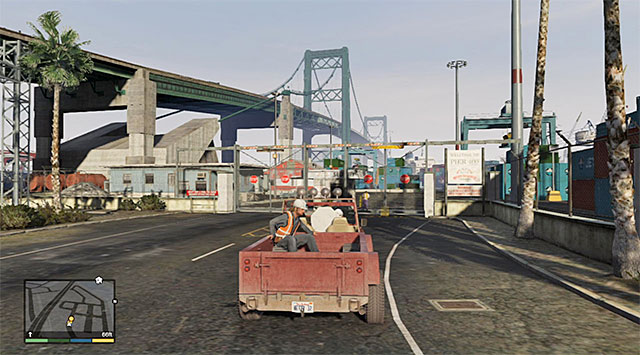 30 Scouting The Port Grand Theft Auto V Game Guide