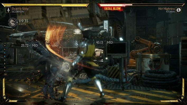 In Mortal Kombat 11 are created in the following way - combo -> special -> combo - Combos in Mortal Kombat 11 - Combat guide - Mortal Kombat 11 Guide and Tips